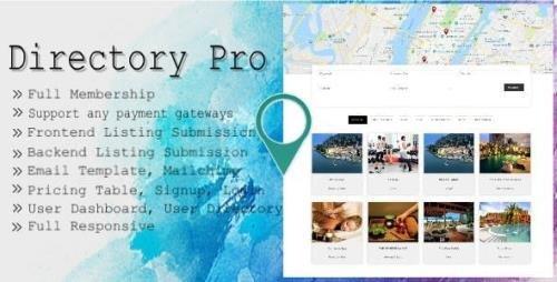 CodeCanyon - Directory Pro v2.1.9 - WordPress Plugin - 12488012