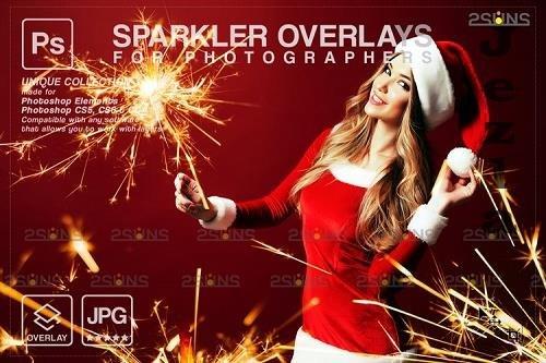 Sparkler overlay & Christmas overlay, PHSP overlay V8 - 1133068