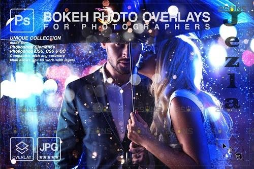 Sparkler wedding overlay & PHSP overlay, Bokeh light V6- 1213419