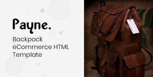 ThemeForest - Payne v1.1 - Backpack eCommerce HTML Template - 24919441