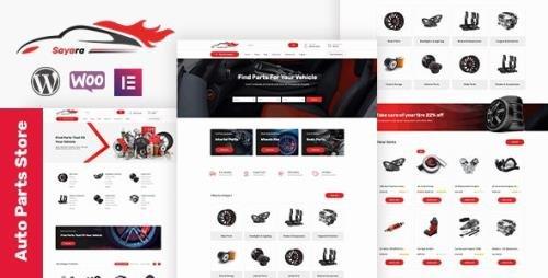 ThemeForest - Sayara v1.1.3 - Auto Parts Store WooCommerce WordPress Theme - 27017723 -