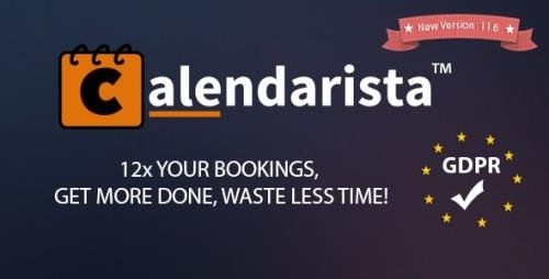 CodeCanyon - Calendarista Premium v11.6 - WP Reservation Booking & Appointment Booking Plugin & Schedule Booking System - 21315966