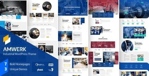 ThemeForest - Amwerk v1.0.1 - Industry WordPress Theme - 29855519