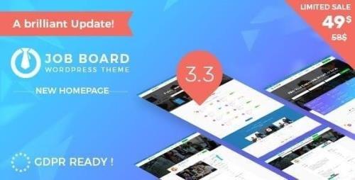 ThemeForest - InJob v3.4.7 - Multi features for recruitment WordPress Theme - 20322987