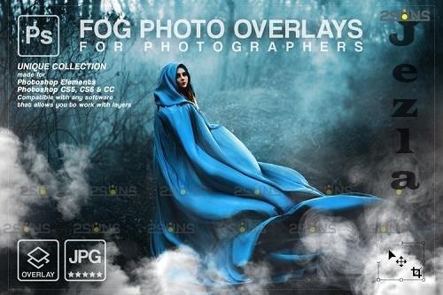 White smoke bomb overlay & Fog overlay, PHSP overlay - 1213416