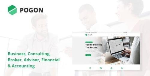 ThemeForest - Pogon v1.0.6 - Business and Finance Corporate WordPress Theme - 23567935