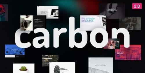 ThemeForest - Carbon v2.7.5 - Clean Minimal Multipurpose WordPress Theme - 18437252