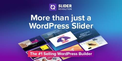 CodeCanyon - Slider Revolution v6.4.2 - Responsive WordPress Plugin - 2751380 -