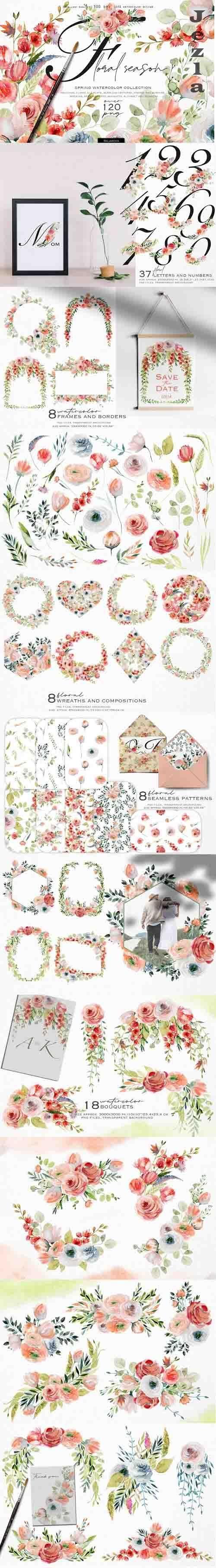 Floral season collection - 1232348