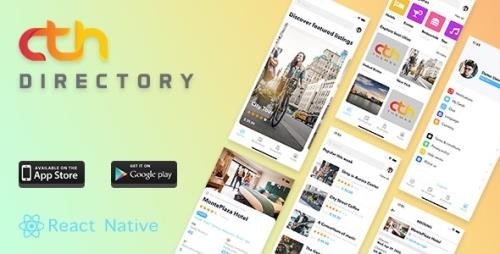 CodeCanyon - CTH Directory v1.3.4 - React Native mobile apps - 26290294