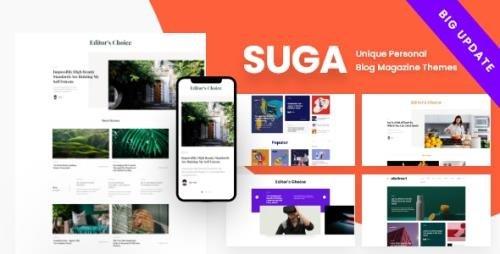 ThemeForest - Suga v2.3.13 - Magazine and Blog WordPress Theme - 25001671