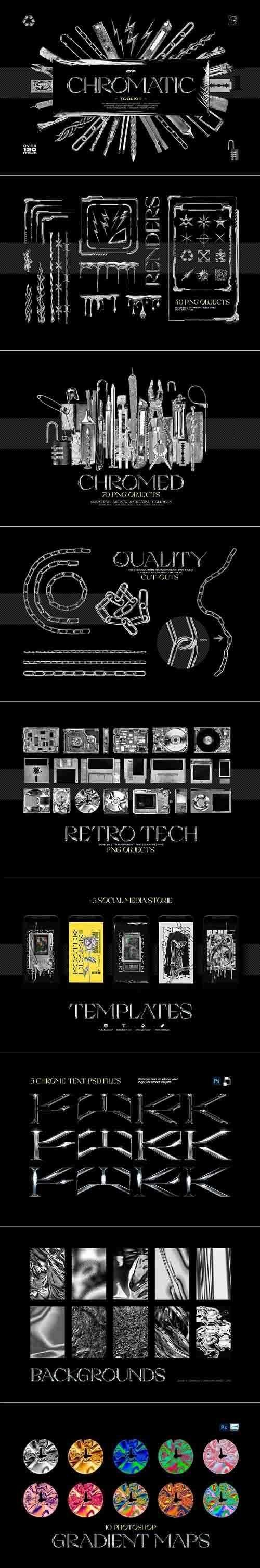 CreativeMarket - Chromatic Toolkit 5743691