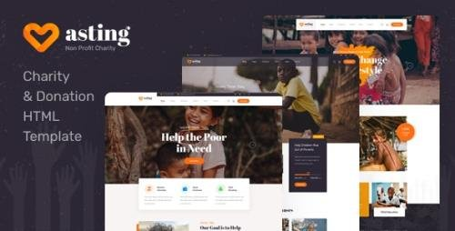 ThemeForest - Asting v1.0 - Charity & Donation HTML Template - 30051588