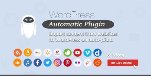CodeCanyon - WordPress Automatic Plugin v3.51.3 - 1904470 -