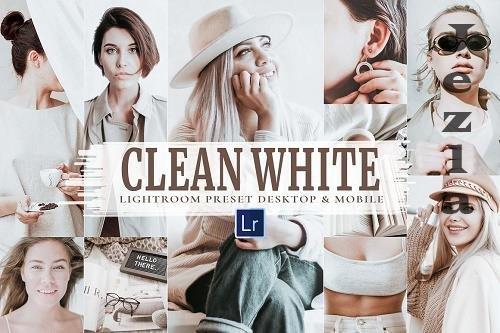 10 Clean White Mobile & LRM - 5927107