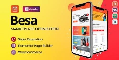 ThemeForest - Besa v1.2.10 - Elementor Marketplace WooCommerce Theme - 25205400