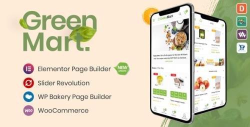 ThemeForest - GreenMart v3.0.6 - Organic & Food WooCommerce WordPress Theme - 20754270