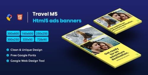 CodeCanyon - Travel HTML5 Animate Banner Ads - M5 v1.0 - 23796735