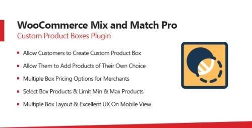 CodeCanyon - WooCommerce Mix & Match v1.3.5 - Custom Product Boxes Bundles - 22361393