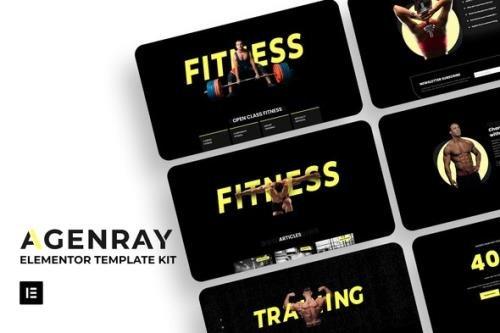 ThemeForest - Agenray v1.0.0 - Gym Elementor Template Kit - 29523238
