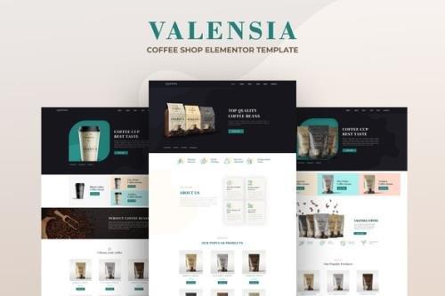ThemeForest - Valensia v1.0.0 - Coffee Shop Elementor Template Kit - 29702634