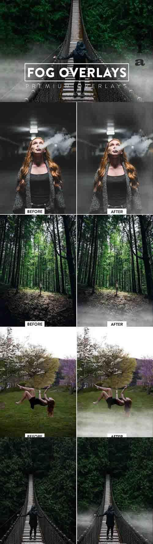 50 Fog Effect Overlays - 5929997