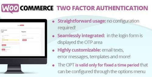 CodeCanyon - WooCommerce Two Factor Authentication v1.1 - 30902918 -