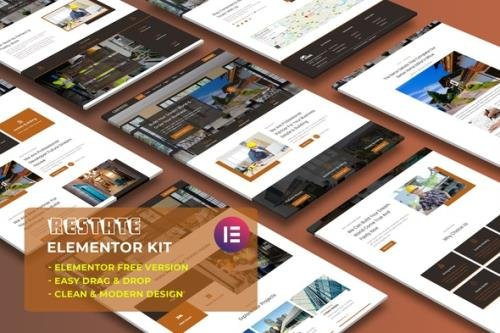 ThemeForest - Restate v1.0.0 - Construction Builder Elementor Template Kit - 30249536