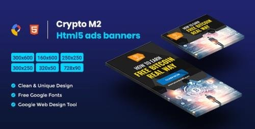 CodeCanyon - Crypto HTML5 Animate Banner Ads - GWD M2 v1.0 - 23744334