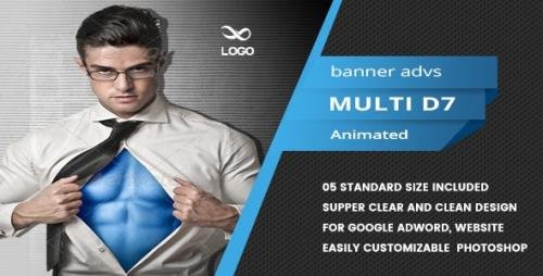 CodeCanyon - Multi Purpose Banners HTML5 D8 - Animate v1.0 - 18736714