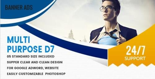 CodeCanyon - Multi Purpose Banners HTML5 D7 - Animate v1.0 - 18592065