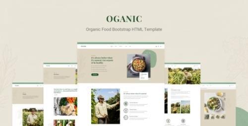 ThemeForest - Oganic v1.0 - Organic Food Bootstrap HTML Template - 30819952