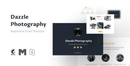 ThemeForest - Dazzle v1.0.0 - Photography Email Newsletter Template - 30374926