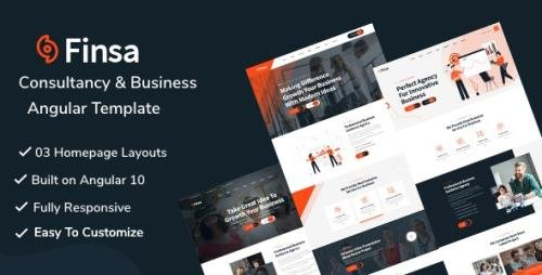 ThemeForest - Finsa v1.0 - Consultancy & Business Angular Template - 28791481