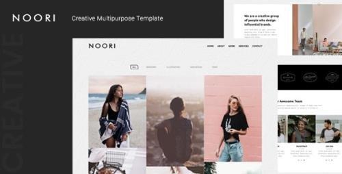 ThemeForest - Noori v1.0 - Creative Multipurpose Template - 25030344