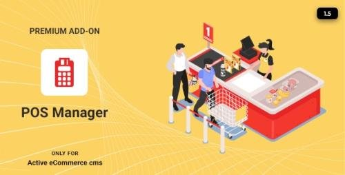 CodeCanyon - Active eCommerce POS Manager Add-on v1.5 - 26704231