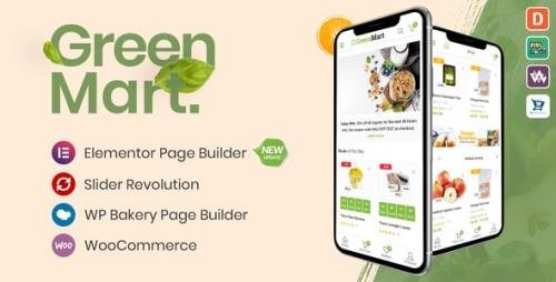 ThemeForest - GreenMart v3.0.7 - Organic & Food WooCommerce WordPress Theme - 20754270