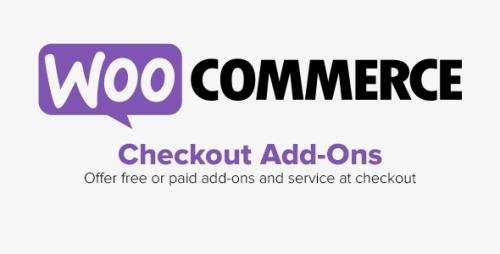 WooCommerce - Checkout Add-Ons v2.5.2