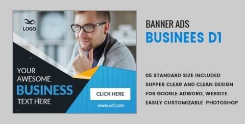 CodeCanyon - Business Banners HTML5 D1 - Animate v1.0 - 18660461