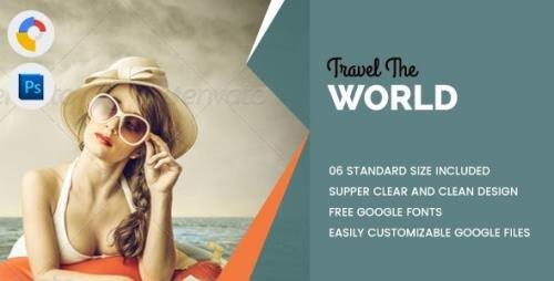 CodeCanyon - Travel World Banners HTML5 - GWD v1.0 - 17794567