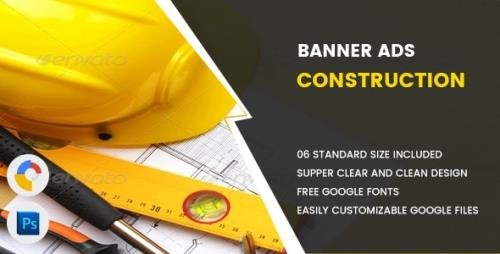 CodeCanyon - Construction Banners HTML5 - GWD v1.0 - 17551999