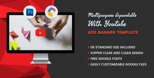 CodeCanyon - Multi Purpose Expandable With Youtube V1- Banner HTML5 GWD v1.0 - 17106326
