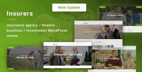 ThemeForest - Insurers v3.0.7 - Insurance Agency WordPress Theme - 19762207