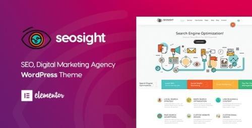 ThemeForest - Seosight v5.1.1 - Digital Marketing Agency WordPress Theme - 19245326 -