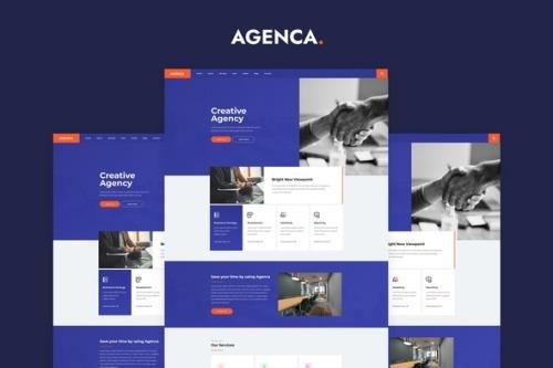 ThemeForest - Agenca v1.0.0 - Creative Agency Elementor Template Kit - 30472765