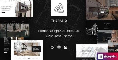ThemeForest - Theratio v1.1.4 - Architecture & Interior Design Elementor WordPress Theme - 27004841
