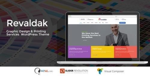 ThemeForest - Revaldak v2.3 - Printing Services WordPress Theme - 20715081