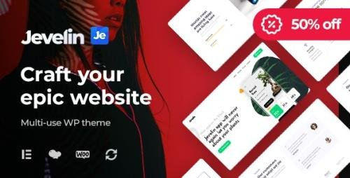 ThemeForest - Jevelin v5.0.0 - Multi-Purpose Responsive WordPress AMP Theme - 14728833