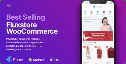 CodeCanyon - Fluxstore WooCommerce v2.0.0 - Flutter E-commerce Full App - 24050041