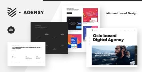 ThemeForest - Agensy v1.0.0 - Digital Lab & Creative Solutions Theme (Update: 7 March 21) - 24103311